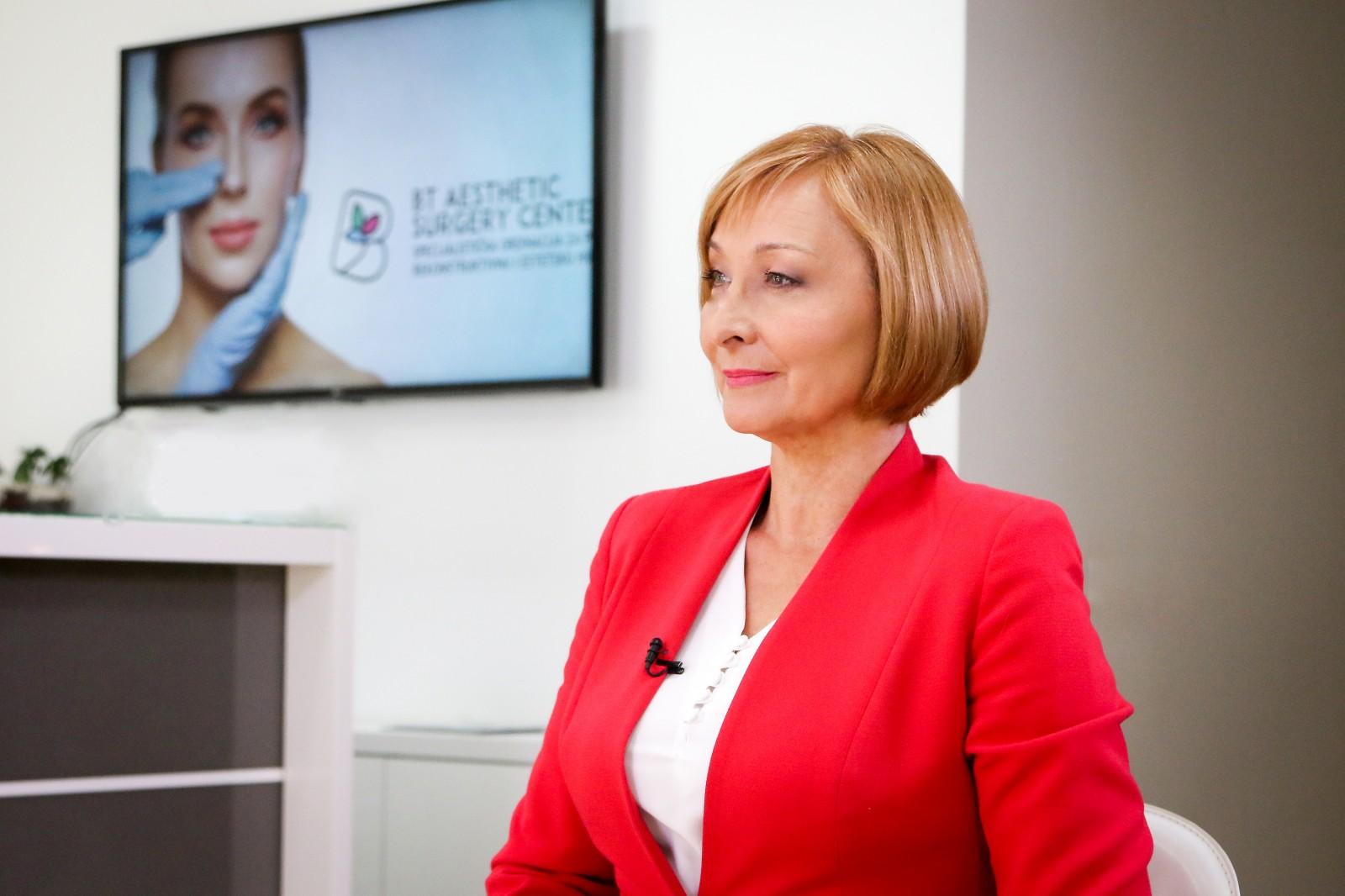 Vesna Radosavljević zaštitno lice BT Aesthtetic Surgery Centra